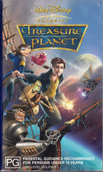 Treasure Planet 2003 AUS VHS