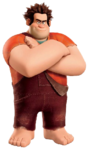 Wreck it Ralph transparent