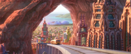 Zootopia Sahara Square buildings