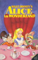 Alice in Wonderland 1986 VHS