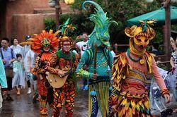 Arbori Tribe Musicians
