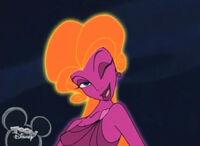 Disney Hercules Aphrodite smile wink