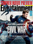 Entertainment Weekly - Captain America Civil War - Cover
