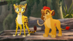 Fuli, Kion and Laini