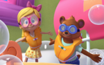 Goldie and Bear in Swimsuit