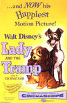 Lady and the Tramp Original 1955 poster