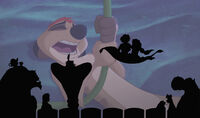 Magic Carpet in The Lion King 1½ (Cameo)