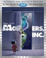 MonstersInc 3D Bluray