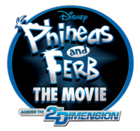 Phineas and Ferb The Movie - Across the 2nd Dimension logo
