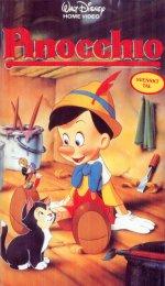 Pinocchio vhs1987