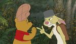 Rabbit Pooh we can't rest until Christopher Robin is rescued
