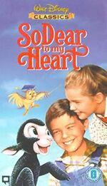 So Dear To My Heart (1998 UK VHS)