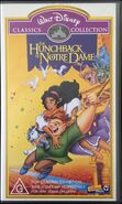 The Hunchback of Notre Dame 2000 AUS VHS