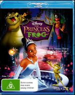 The Princess and the Frog 2010 AUS Blu Ray