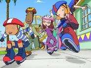 Weekenders cast skating