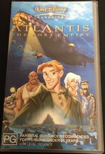 Atlantis- The Lost Empire 2002 AUS VHS