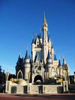 Cinderella Castle of Magic Kingdom Florida