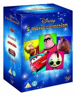 Disney 5 Movie Collection Boys Box Set UK DVD