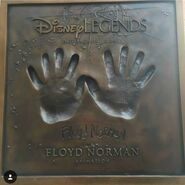 Floyd Norman Legends Plaque
