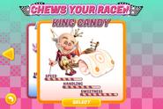 King Candy Sugar Rush game stats