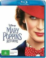 Mary Poppins Returns 2019 AUS Blu Ray