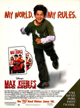 Max Keebles Big Move DVD advertisement Nickelodeon Magazine june july 2002
