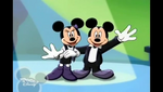 Mickey and Minnie say goodbye together
