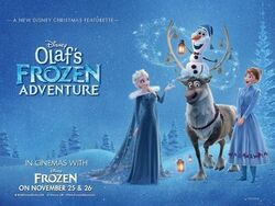 Olaf Frozen Adventure Arabic