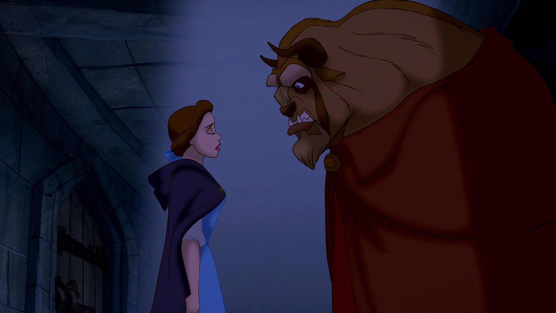 Belle Promised The Beast To Stay In Castle
