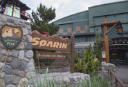 Soarin' Sign DCA