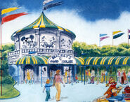 Dumbo's Circus Land Concept Art (1)