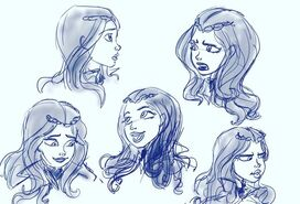 Evie Expression Sheet