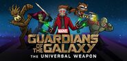 Guardians of the galaxy the universal weapon logo
