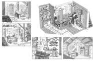 Mystery Shack Concept Art II