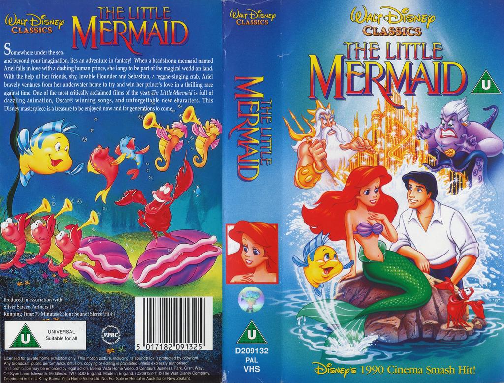 6d0db3640a9a The Little Mermaid (video)