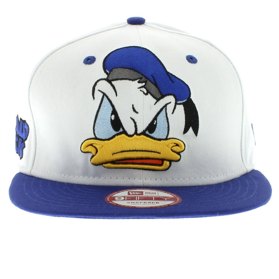 6b9b6332a56 ... official store 26 donald duck the cabesa punch snapback white and blue  950 9fifty new era