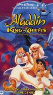 Aladdin and the King of Thieves UK VHS