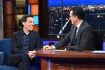 Ed Helms visits Stephen Colbert