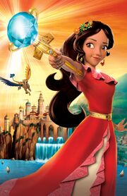 Elena of Avalor textless poster