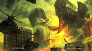 Kaiju attack San Fransokyo