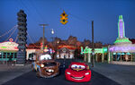 Lightning and Mater Cars Land 01