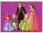 Panini Sofia the First Sticker Cards 3
