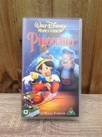 Pinocchio UK VHS (2000)