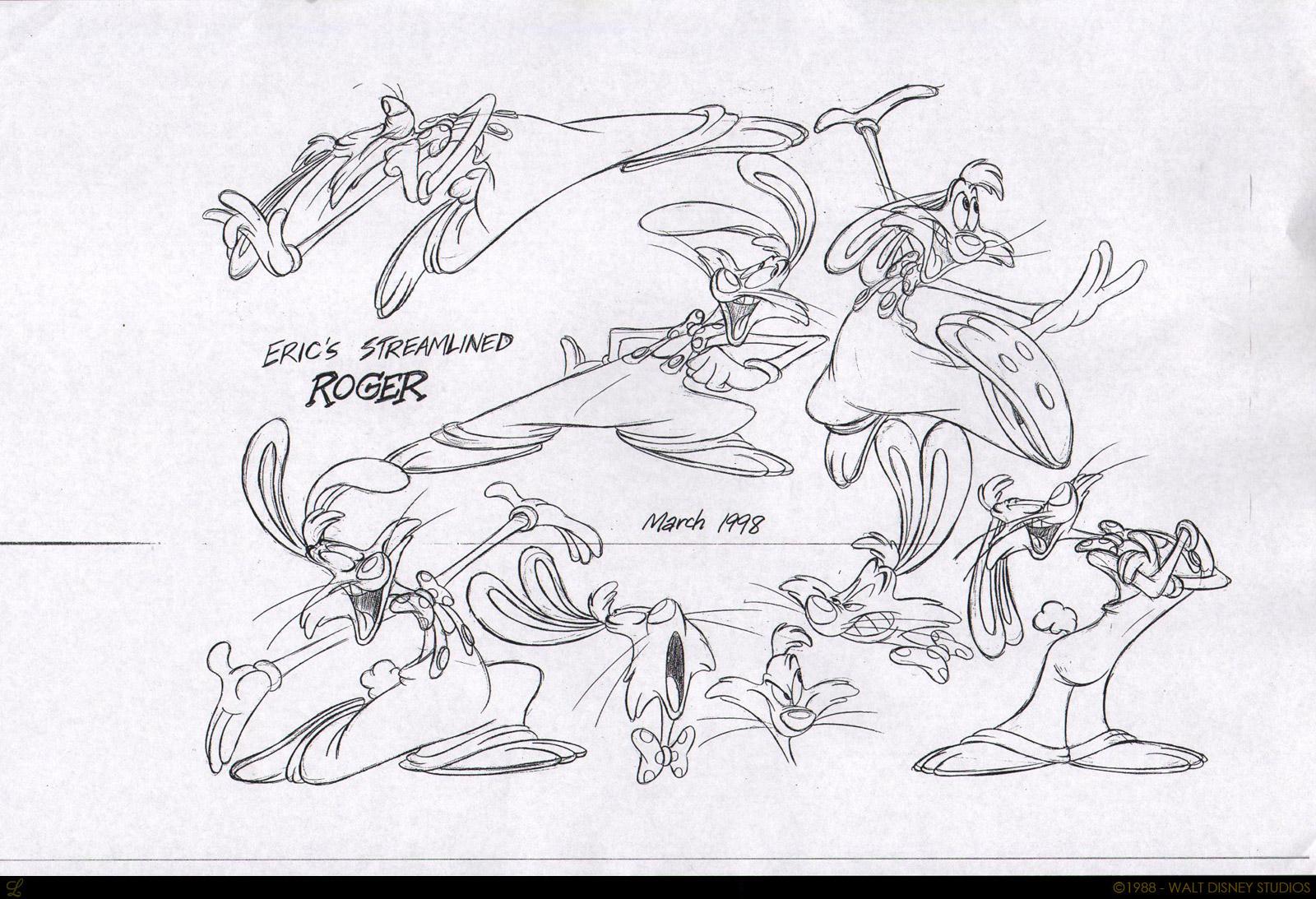 Image - Roger Rabbit concept 3.jpg | Disney Wiki | FANDOM powered by ...