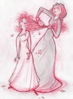 Zeichnung Merida Elinor