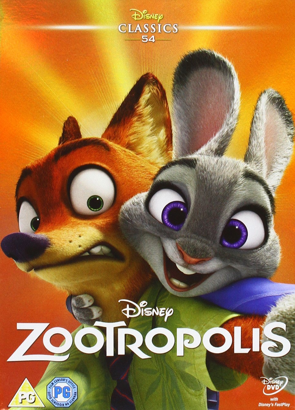 Zootropolis UK DVD 2016 Limited Edition slip cover.jpg