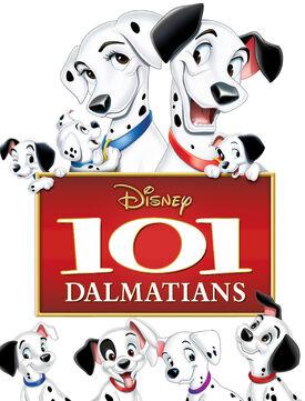 101 Dalmatians poster-cover art