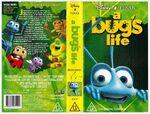 A bug's life australia vhs cover