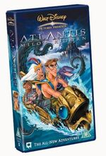 Atlantis milo's return uk vhs