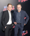 Bill Pullman and son Lewis El Royale premiere
